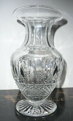 Vase cristal de St Louis modèle Tommy neuf boite