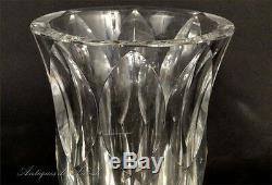 Vase en cristal taillé Saint-Louis 20e