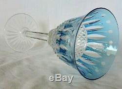 Verre A Eau En Cristal De St Louis Tommy 19.8 CM Couleur Bleu Ciel
