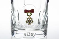Verre à Whisky Légion d'Honneur en Saint-Louis. Whisky glass Legion of Honour