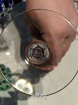 Verre à vin du Rhin ROEMER Service Sylvaner cristal taillé de St LOUIS X11