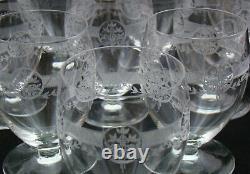 Verres gobelet cristal Saint Louis Ligier 1930 Crystal glasses